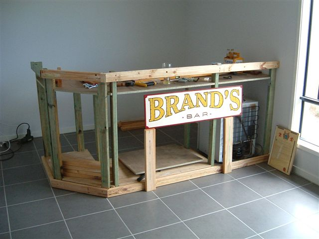 Pdf diy diy bar plans download diy build your own loft bed for How to build a mini bar at home