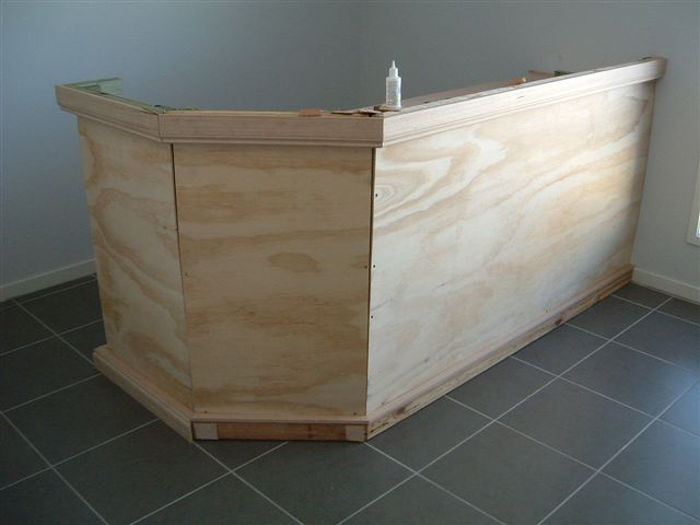 Diy home bar - Construire un comptoir de bar ...